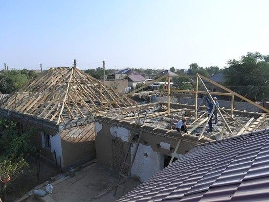 Восстановительные работы в Арыси ведут до сих пор