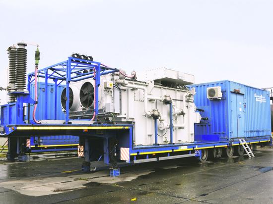 В арсенале энергетиков Западной Сибири появилась модульная подстанция «наколесах»