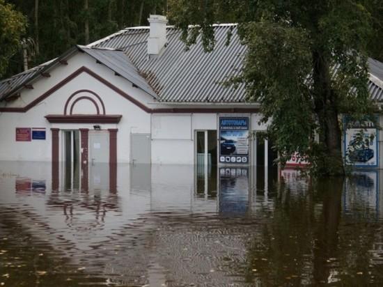 В одном из хабаровских поселков подтопило более 40 домов