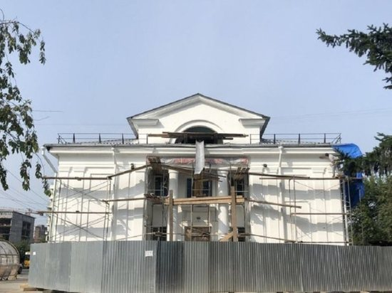 Капремонт театра кукол начался в Иркутске