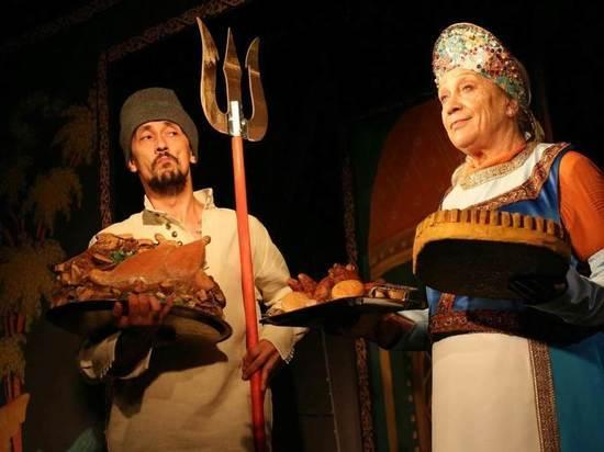В Туапсинском ТЮЗе сказку Пушкина поставил ученик Камы