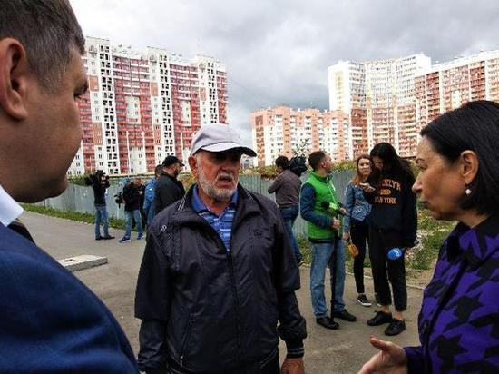 Наталья Котова дала два месяца на благоустройство микрорайона «Академ Riverside»