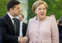 Зеленский решил связаться с Макроном и Меркель