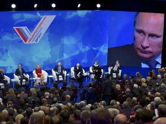 В ОНФ посоветовали Сапожникову не плевать в лицо президентскому фронту
