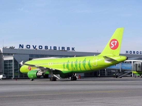 Самолет из Новосибирска задержали из-за сообщения о теракте