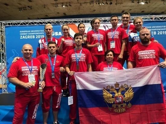 Двое представителей Башкирии завоевали медали Европейской универсиады по кикбоксингу