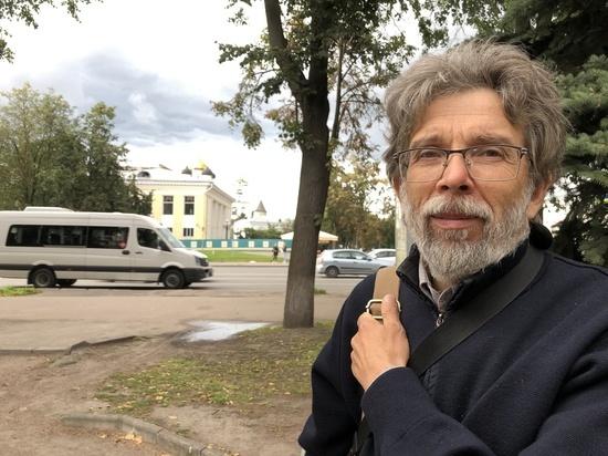 Автор памятника Зиновию Гердту присматривает в Пскове место для нового монумента