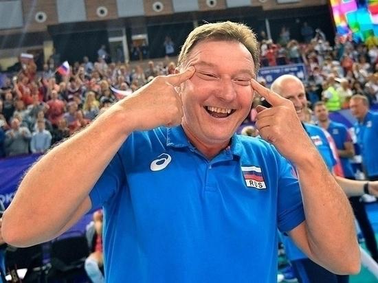 Тренер сборной России так радовался, что теперь его обвиняют в расизме