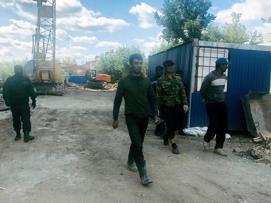 В Оренбурге задержано 15 мигрантов - строителей
