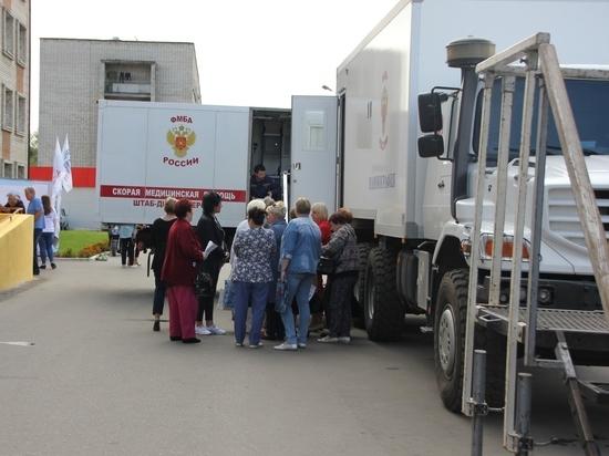 Медотряд проекта «Здоровое будущее» принял пациентов в Суворове