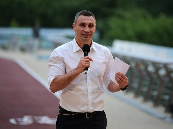 Кличко объявил о решении баллотироваться на второй срок