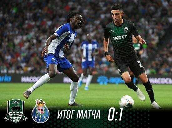 «Быки» уступили «Порту» в матче квалификации Лиги чемпионов в Краснодаре