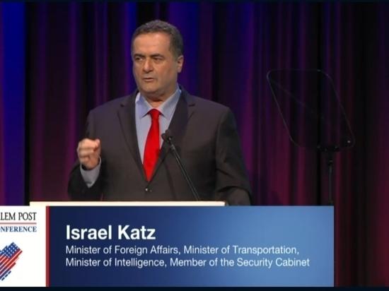 Глава МИД Исраэль Кац сообщил о значительном росте позитивного отношения россиян к Израилю