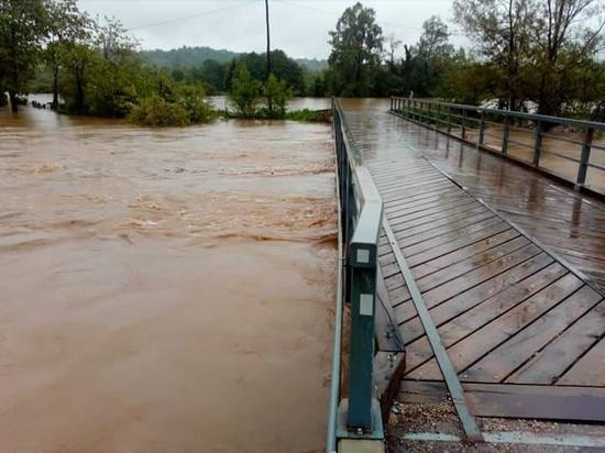 Дожди вызвали рост уровней воды на хабаровских реках