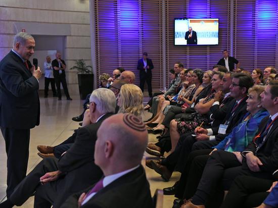 Нетаниягу встретился с делегацией американских конгрессменов-демократов