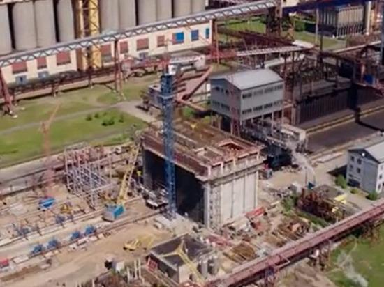 Алтай-Кокс приступил к монтажу оборудования для внедрения технологии трамбования угля