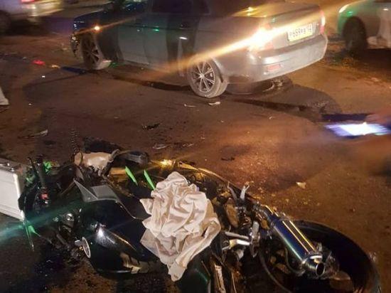 Жертвой «тройного» ДТП в Башкирии стал пассажир мотоцикла