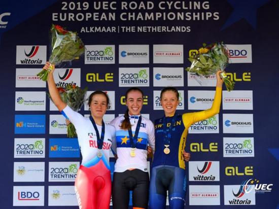 Велогонщица из Башкирии завоевала «серебро» чемпионата Европы