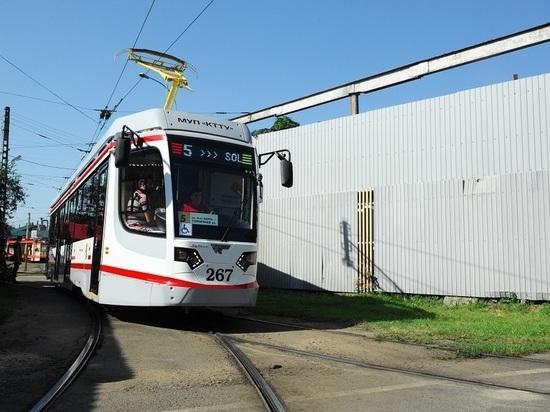 Первый новый трамвай вышел в Краснодаре на маршрут №5