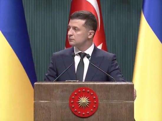 Зеленский предложил Турции восстанавливать Донбасс