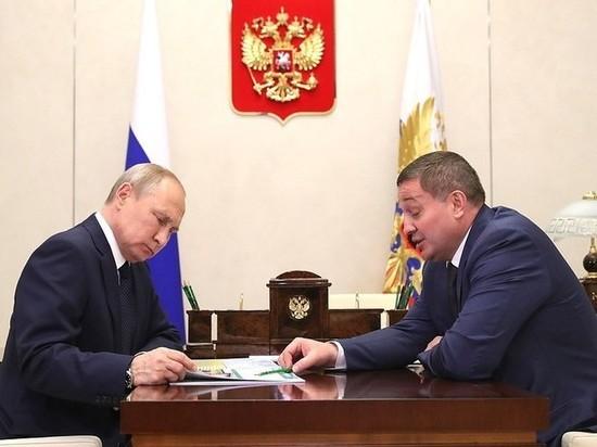 Президент Путин поддержал проект Бочарова по обводнению поймы