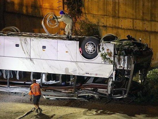 44 жизни медики Кубани спасли после аварии с автобусом в Новороссийске