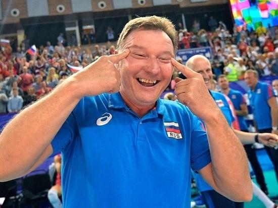 Федерация волейбола извинится за расистский жест тренера сборной