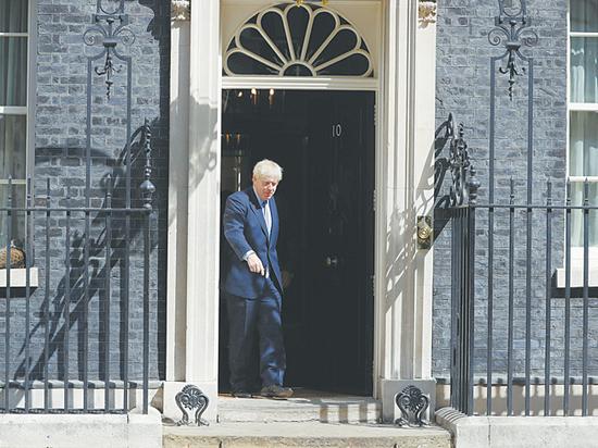 Интимные тайны британского премьера Джонсона: