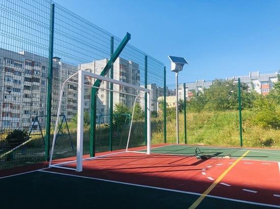 Футбольные ворота и баскетбольные мачты устанавливают в Железноводске