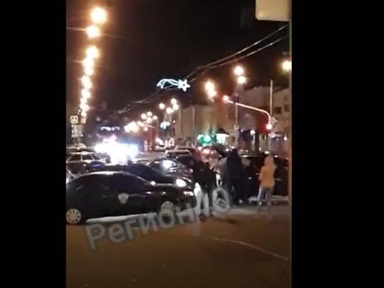 Полицейские нашли танцующих лезгинку на калужской дороге