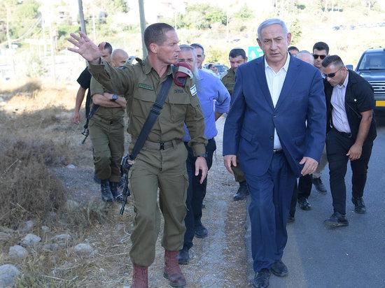 Премьер-министр Нетаниягу посетил место теракта в Гуш-Эционе