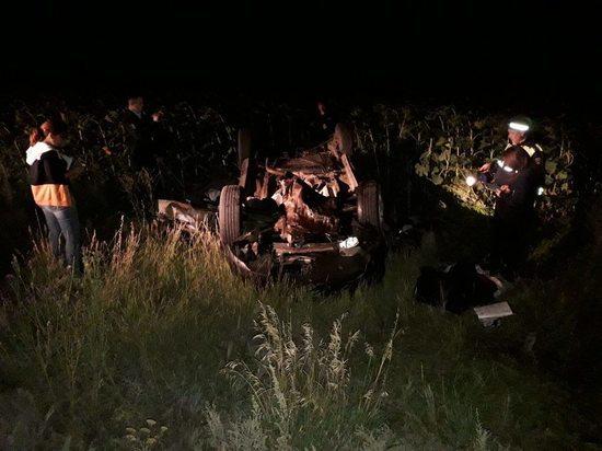 Под Бузулуком на трассе погибли четыре человека, двое из которых - дети