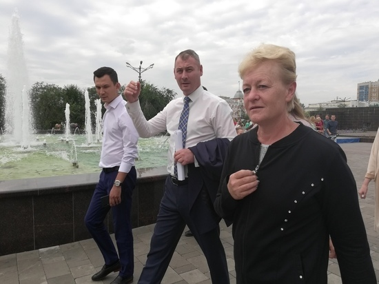 Площадь Ленина в Чите достойная, но лишена колорита - Калинина