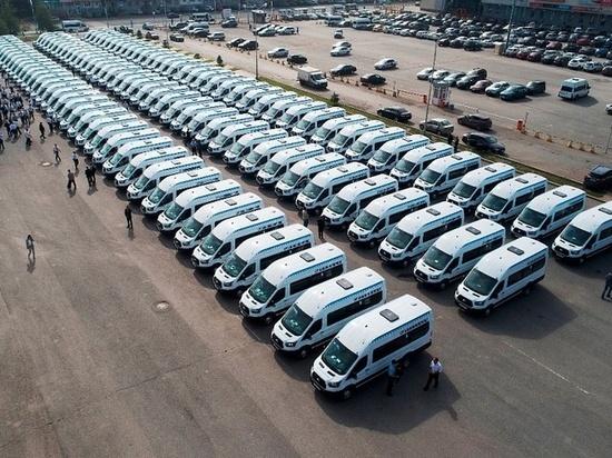 Автопарк «Башавтотранса» пополнился на 110 микроавтобусов