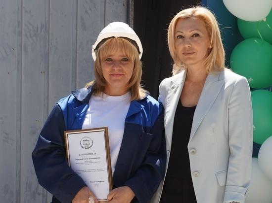 Вице-спикер Госдумы посетила стройплощадки в Ставрополе накануне Дня строителя