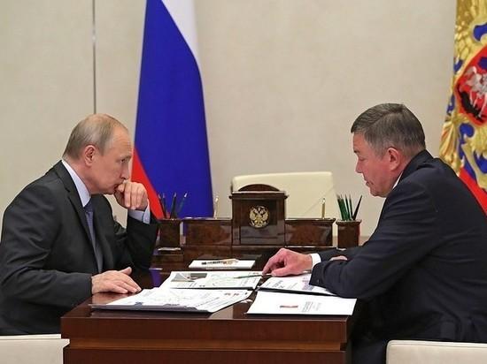 Владимир Путин поддержал проекты инфраструктурного развития Вологодской области