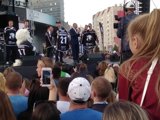 В Челябинске открыли фестиваль болельщиков ХК «Трактор»