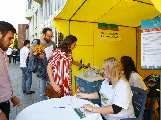 В Ставрополе горожане выбирают голосованием территории для благоустройства