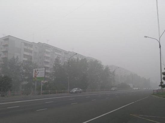 Север Приангарья страдает от смога