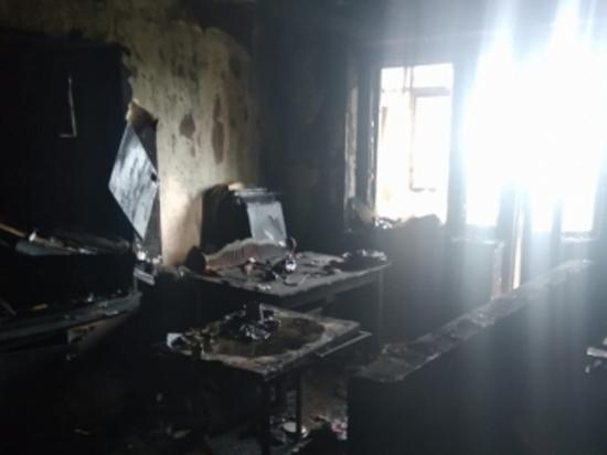 В Тоцком районе на пожаре погиб мужчина, четыре человека спасены