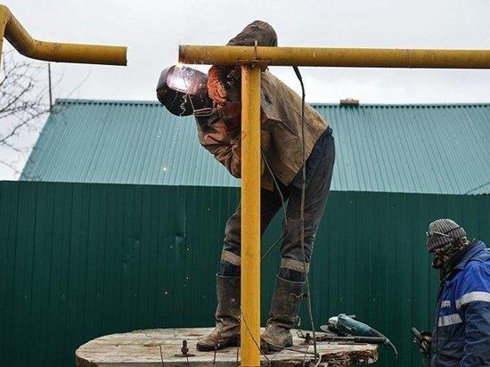 В Оренбургском районе женщина сама подключается к газопроводу
