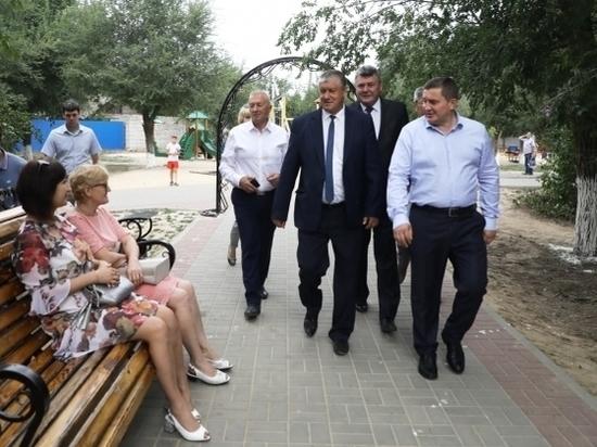Развитие Котельниковского района Бочаров определил вместе с его жителями