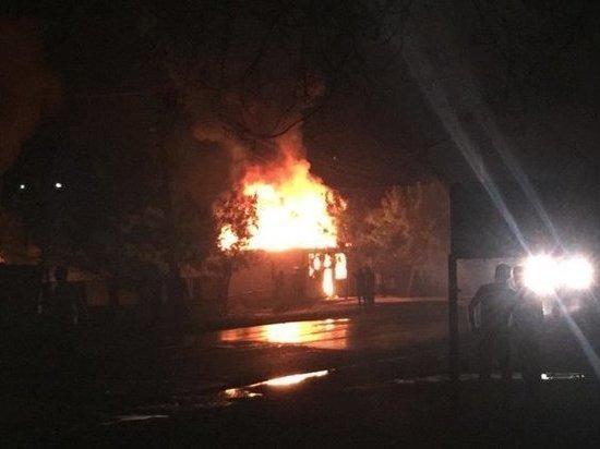 Росгвардеец спас пострадавших при пожаре на газозаправке в Сунже