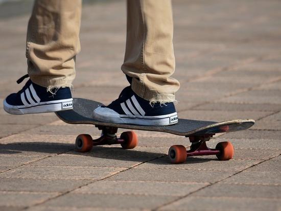 На месте сбора хулиганов в Узловой открыли скейт-парк