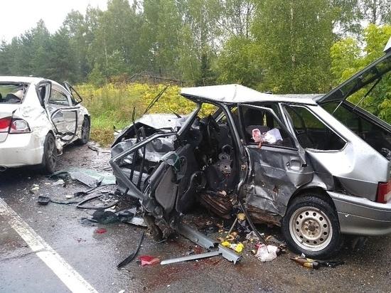 В Ивановской области у Малинок произошло крупное ДТП