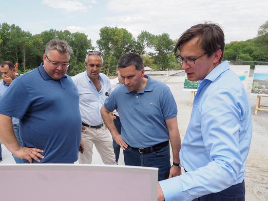 Лодочную станцию строят в Железноводске