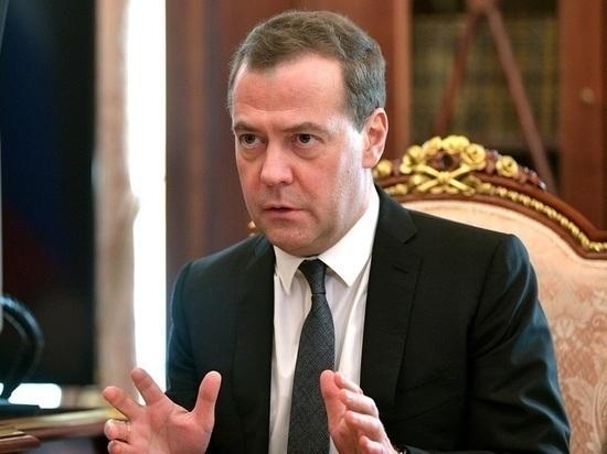 Медведев выложил видео с подаренным президентом Туркмении щенком