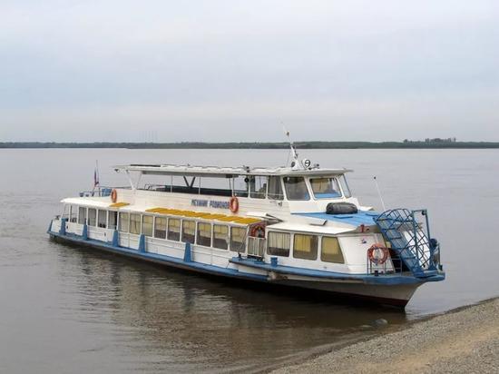 Речные перевозки прекращены в Хабаровском крае