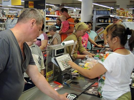 Назван средний чек в русских  продуктовых магазинах