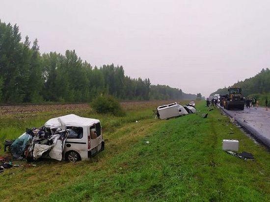 В Тамбовской области в ДТП погибли пять человек